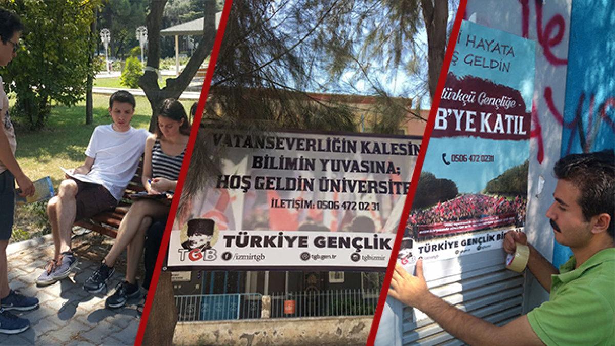 TGB İzmir üniversiteyi kazananlara hoşgeldin diyor