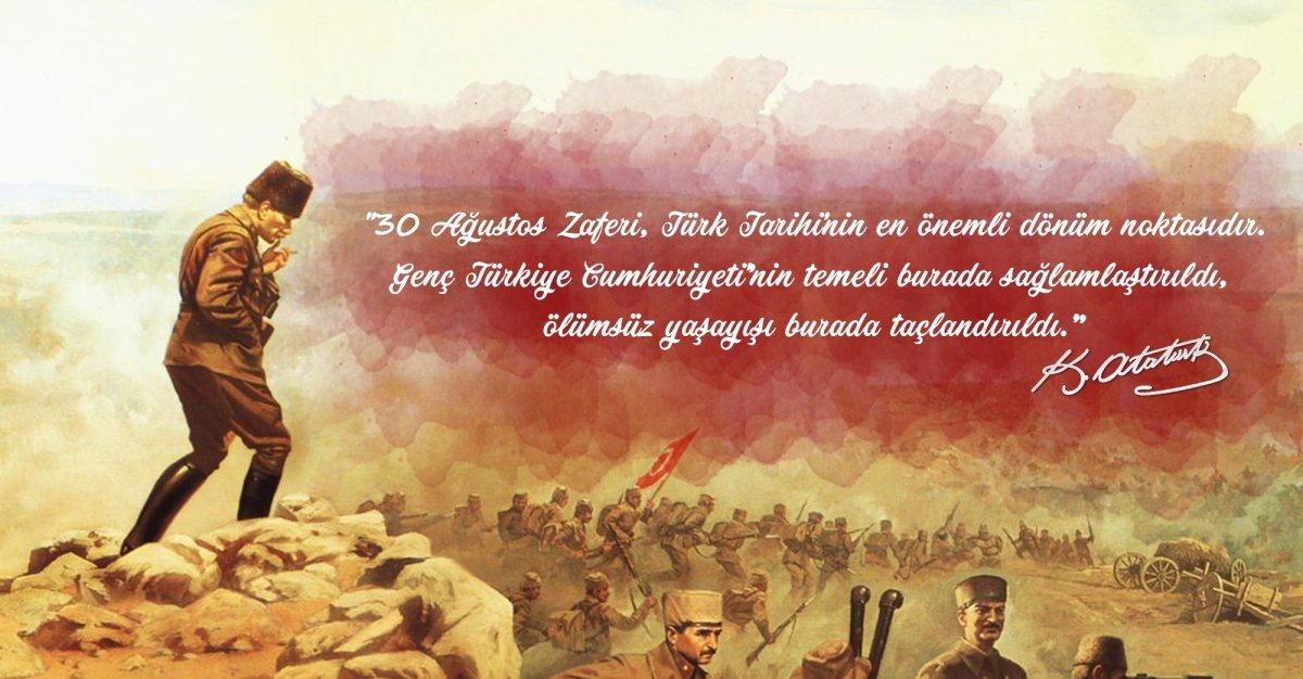 Genel Başkanımız Cem Dikmen'den 30 Ağustos mesajı