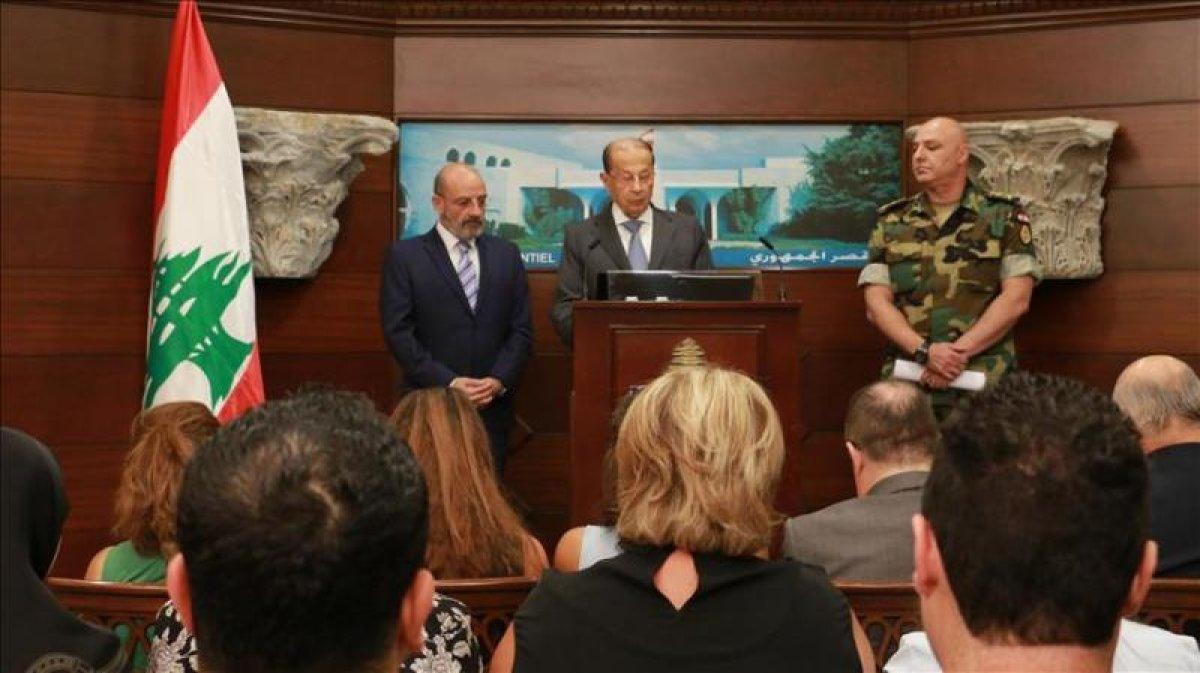 Lübnan Cumhurbaşkanı'ndan IŞİD'e karşı zafer ilanı
