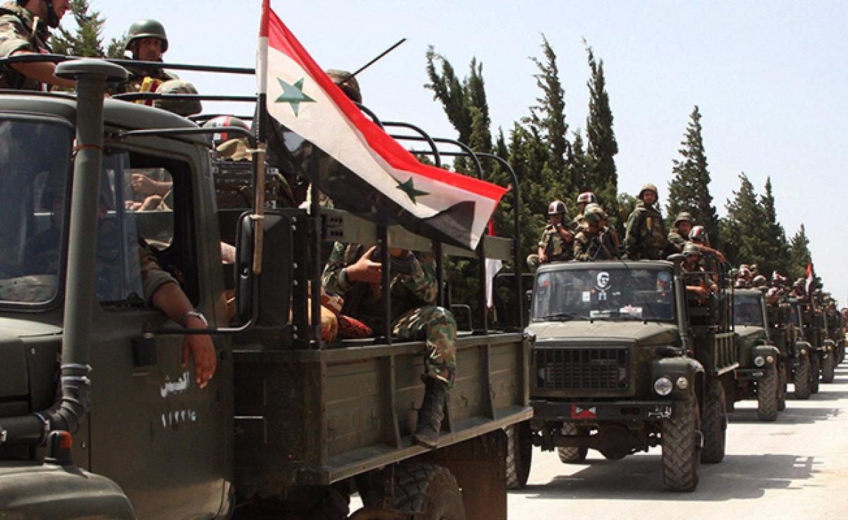 Suriye Deyr ez Zor'daki IŞİD kuşatmasını kırdı