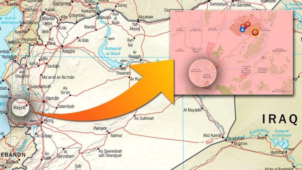 İsrail jetleri Hama'yı vurdu!