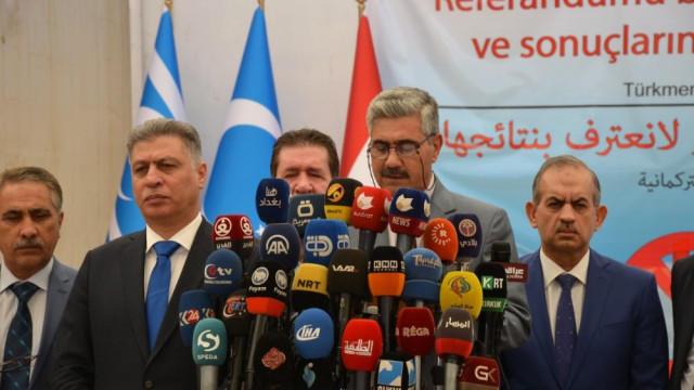 """8 partiden """"Kürdistan"""" referandumuna rest!"""