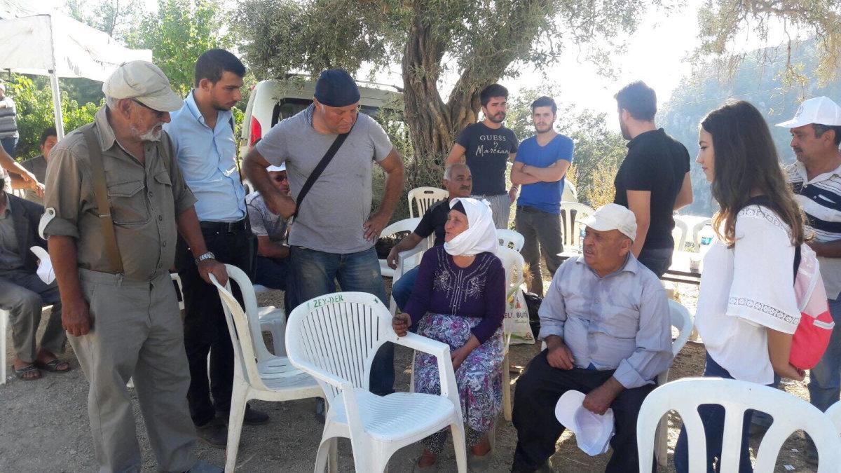 TGB Muğla'dan Zeytinköy ziyareti