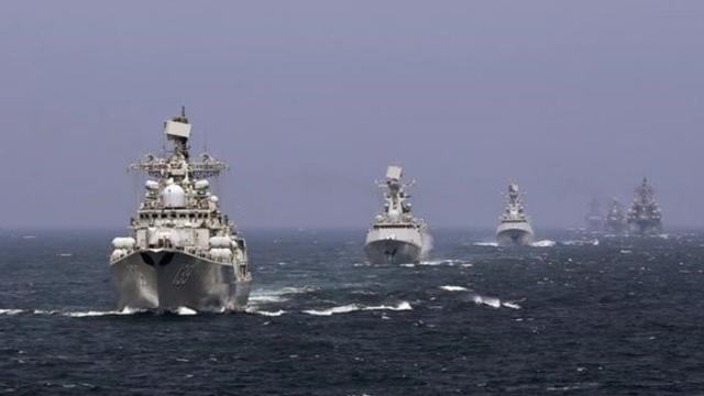Rusya ve Çin'den ortak tatbikat