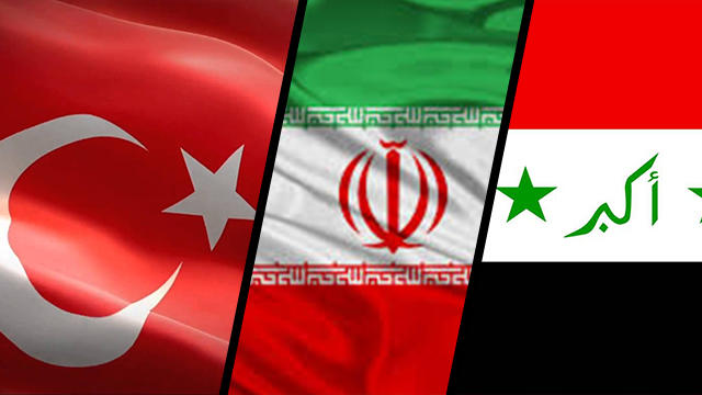 """Türkiye, İran ve Irak'tan """"Kürdistan"""" referandumuna karşı ortak bildiri"""