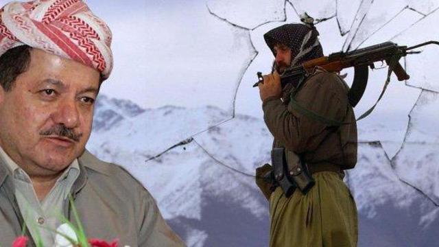 PKK'dan Barzani'ye destek!