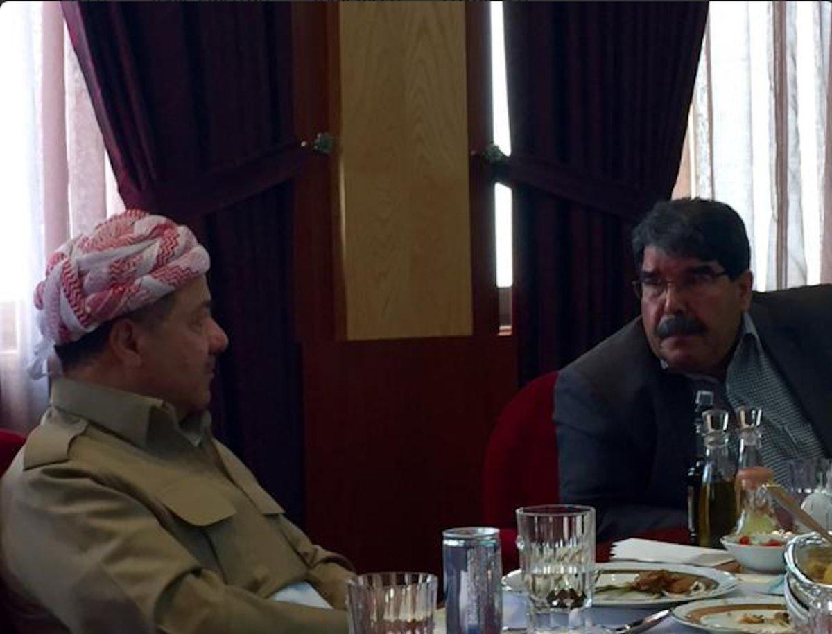 PYD lideri: Saldırı olursa Barzani'yi savunuruz