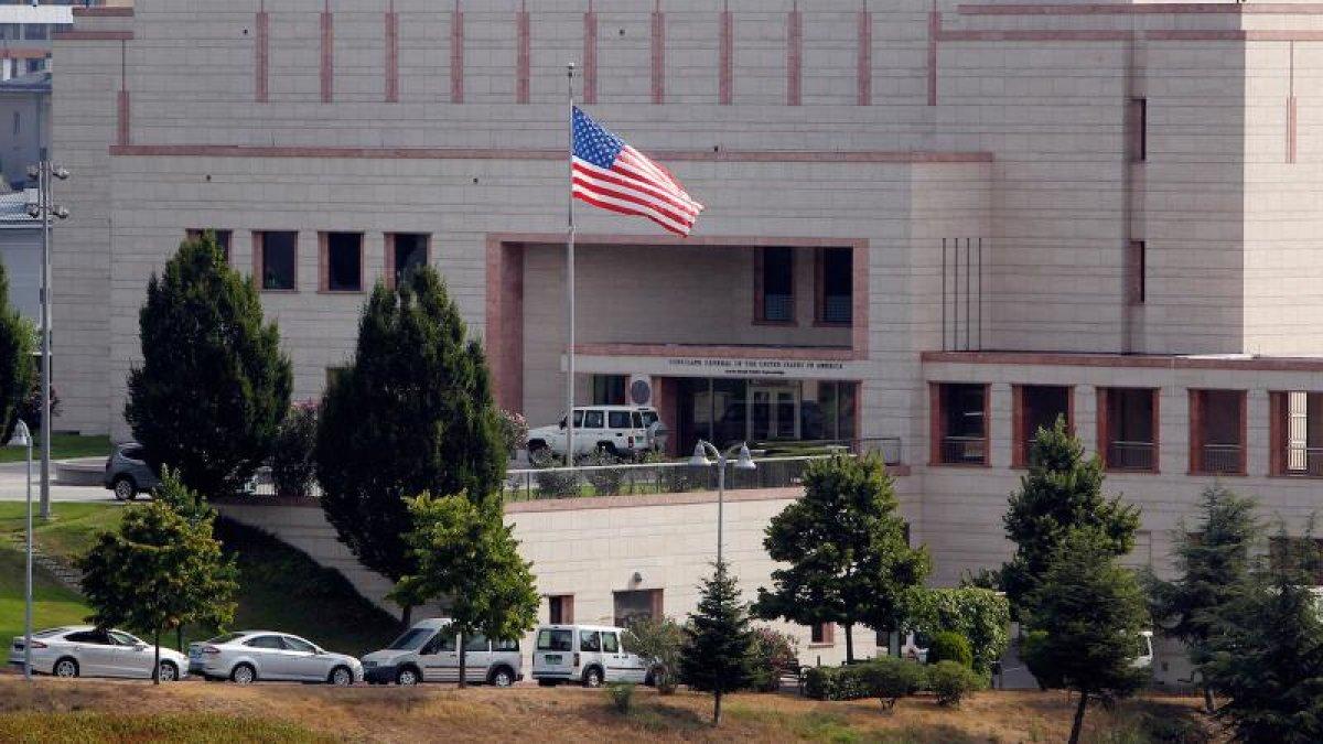 FETÖ'cülerle irtibat kuran ABD Konsolosluk çalışanı tutuklandı