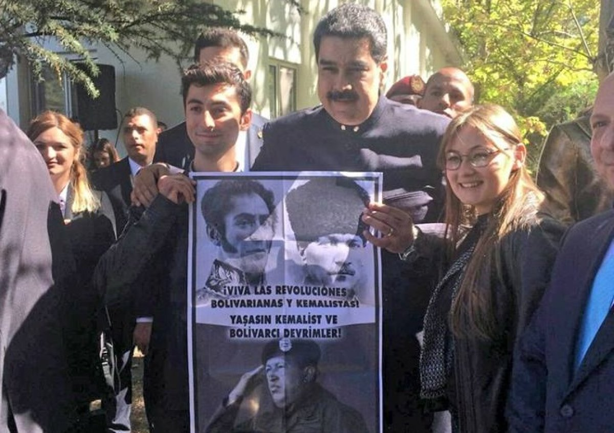Maduro'nun resmi