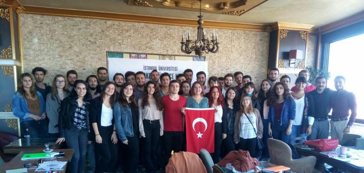 İstanbul Üniversitesi ADK'dan tanışma toplantısı