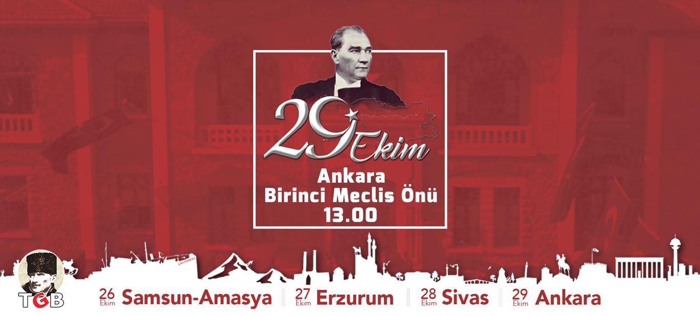 Türk gençliğinin 29 Ekim programı