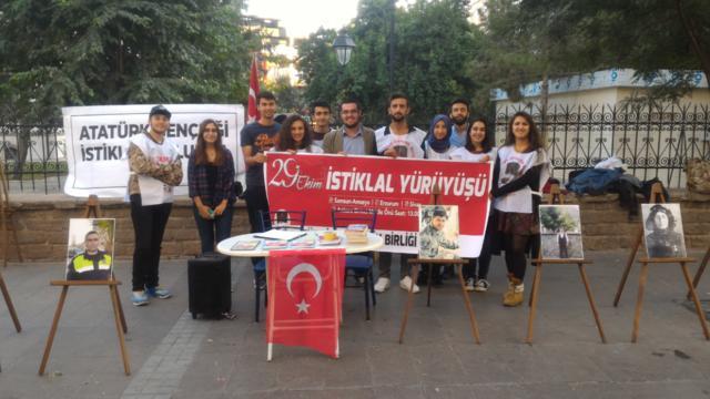 TGB Konya İstiklal ruhuyla 29 Ekim'e hazırlanıyor
