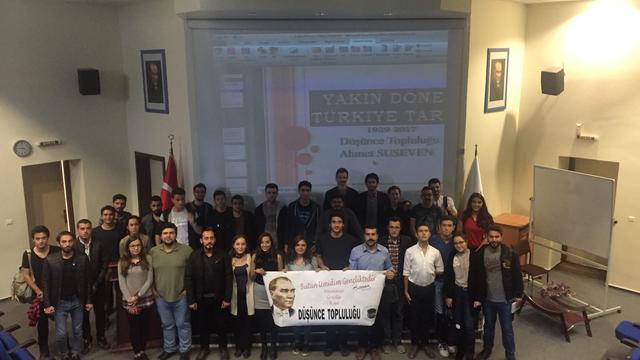 """Denizli'de """"Söz Konusu: Yakın Çağ Türkiye Tarihi"""" söyleşisi"""