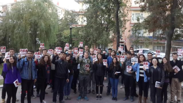 TGB Ankara'yı kapı kapı dolaşıyor