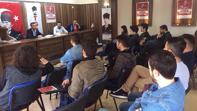 TGB Kütahya 29 Ekim çalışmalarını başlattı