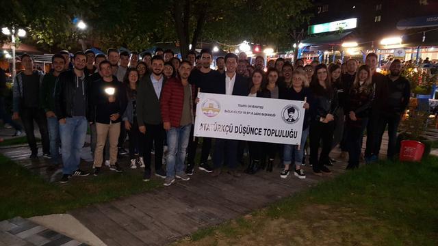 Trakya'nın Atatürkçü gençleri toplantıda buluştu