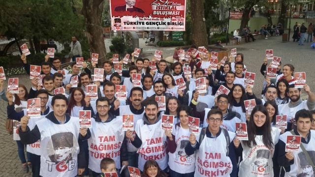 Ankara'da kalpler İstiklal Yürüyüşü için atıyor!