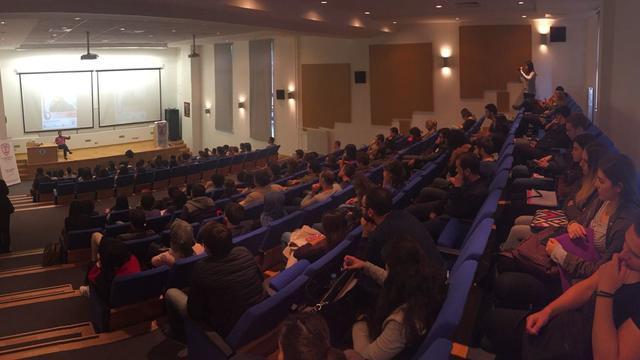 Bilkent öğrencileri Nihat Genç ile gündem değerlendirdi