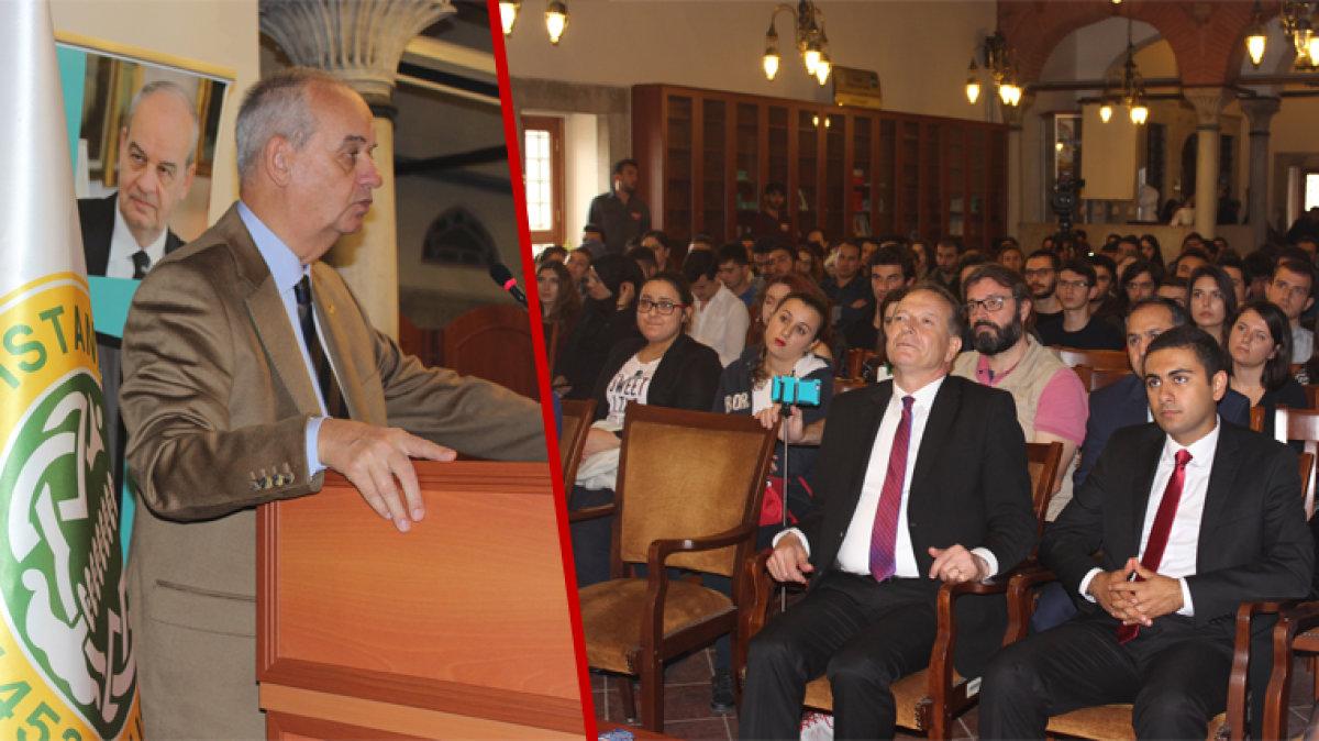 İstanbul Üniversitesi ADK İlker Başbuğ'u ağırladı