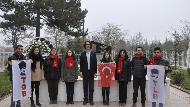 TGB Eskişehir Behiç Erkin'i unutmadı!
