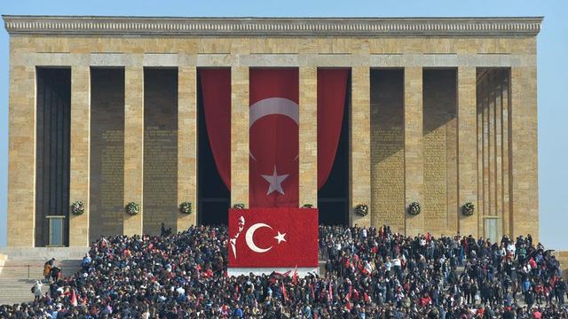 10 Kasım'da Anıtkabir'e 1 milyon ziyaret