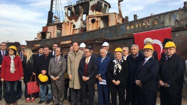 """Atatürk'ün """"geldikleri gibi giderler"""" sözünü söylediği gemi bulundu"""