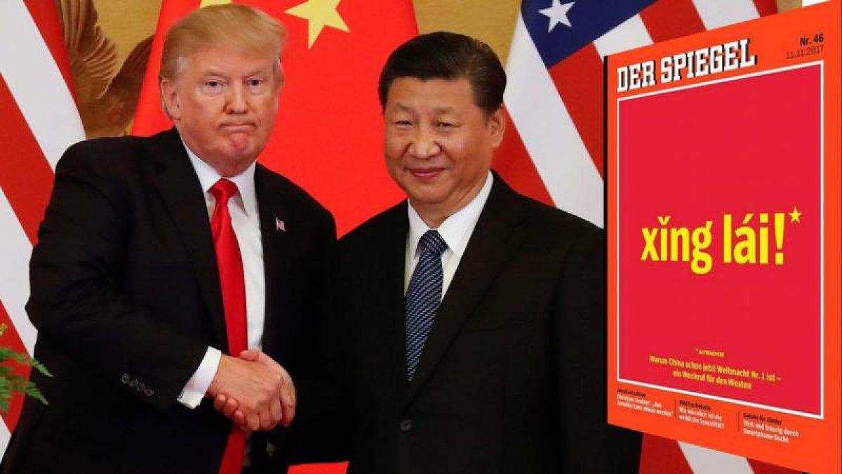Almanya'dan tarihi kapak: Çin dünyanın 1 numarası