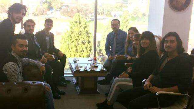 TGB Aydın'dan ADÜ Rektörüne ziyaret