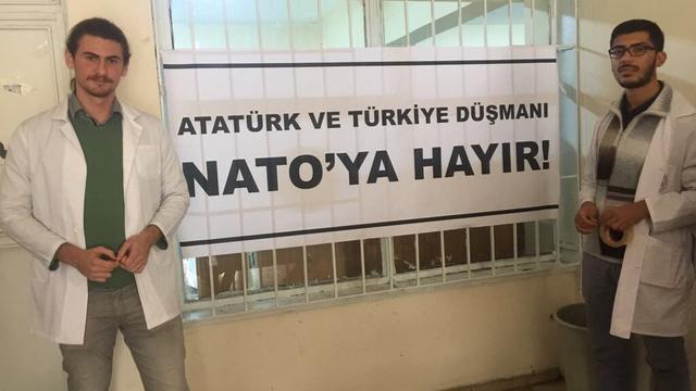 TGB Çapa tek ses: Nato'ya hayır!