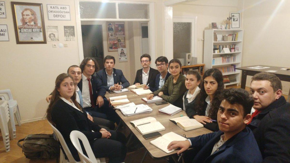 TGB Eskişehir yönetimi Genel Başkanımız ile toplandı