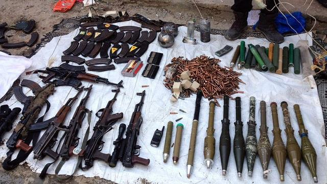 PKK deposunda kalemtıraşlı bomba bulundu