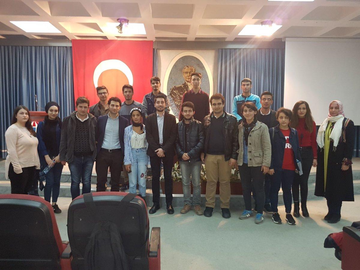Gaziantep ADT'den Ferhan Bayır'la söyleşi