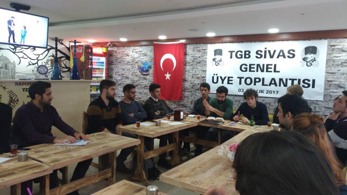 TGB Sivas genel üye toplantısında gündemi değerlendirdi
