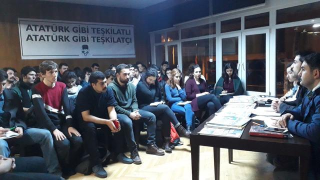 TGB Ankara siyasi gelişmeleri değerlendirdi
