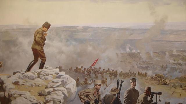 Kurtuluş Savaşı siperleri ortaya çıkarıldı