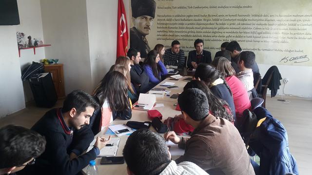 TGB İzmir Aralık ayı planını oluşturdu