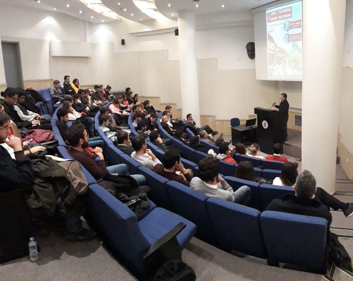 """Bilkent Ütopya ve Bilim Topluluğundan """"Ekim Devrimi"""" etkinliği"""