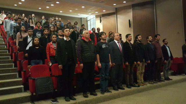 Akdeniz Üniversitesinde Cumhuriyet Devrimi ve Milli Eğitim konferansı