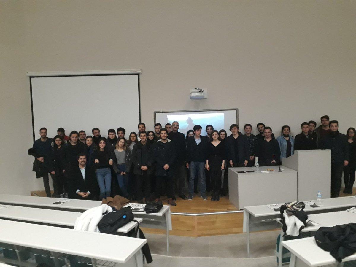"""Hacettepe Üniversitesi'nde """"Siperin Gözünden Vatan Savaşı"""" Etkinliği"""
