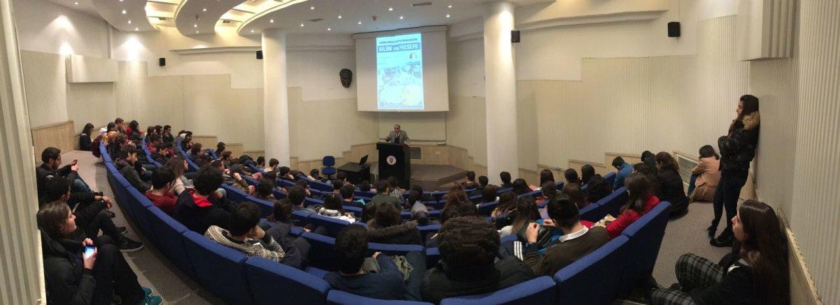 Bilkent öğrencileri Bilim ve Felsefe etkinliğinde buluştu