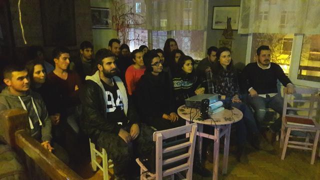 DTCF öğrencileri: Cumhuriyet'i ilelebet yaşatacağız