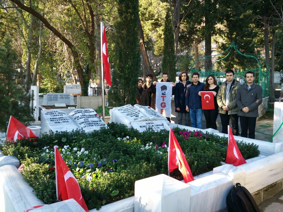 TGB Boğaziçi'nden Fahrettin Paşa'nın mezarına ziyaret!