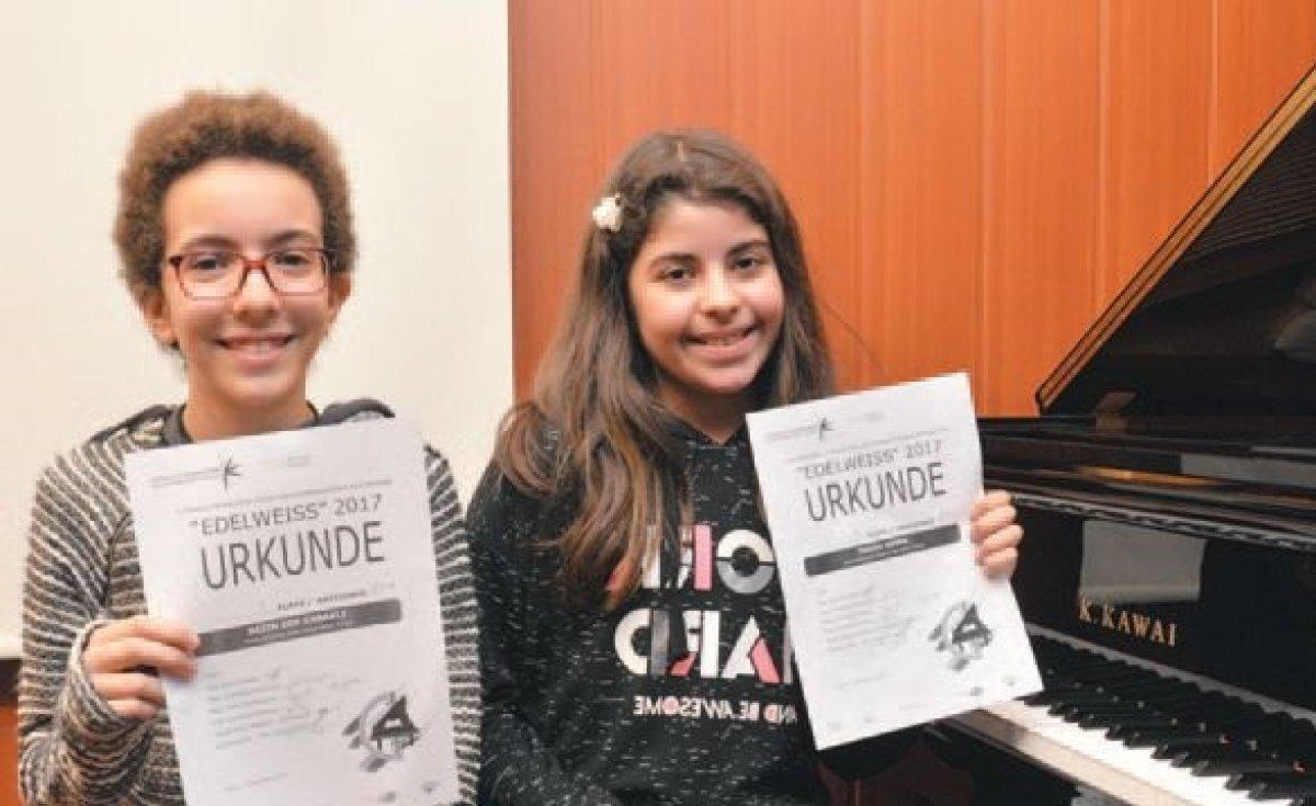 Genç piyanistler dünya üçüncüsü oldu