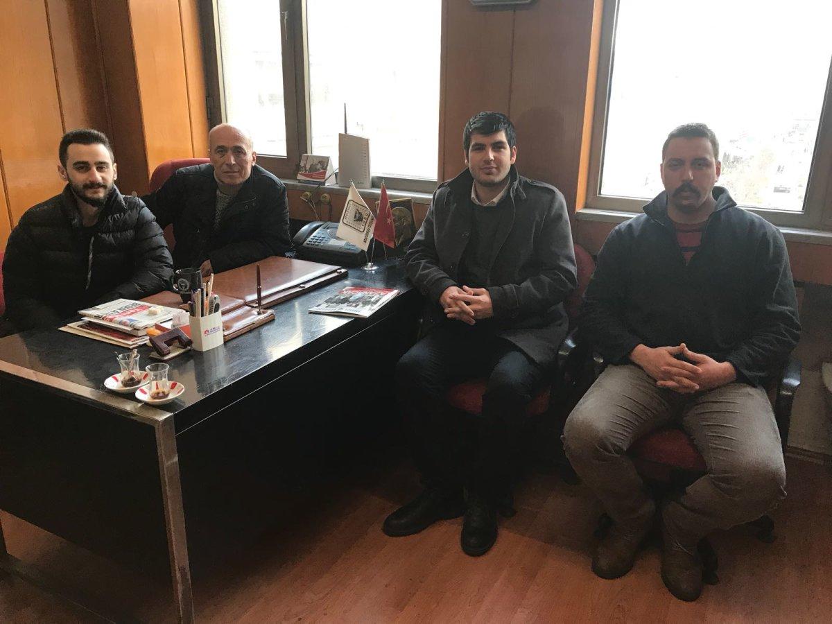TGB'den Trabzon'da ADD'ye ziyaret