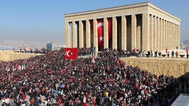 2017'de Anıtkabir'e rekor ziyaret