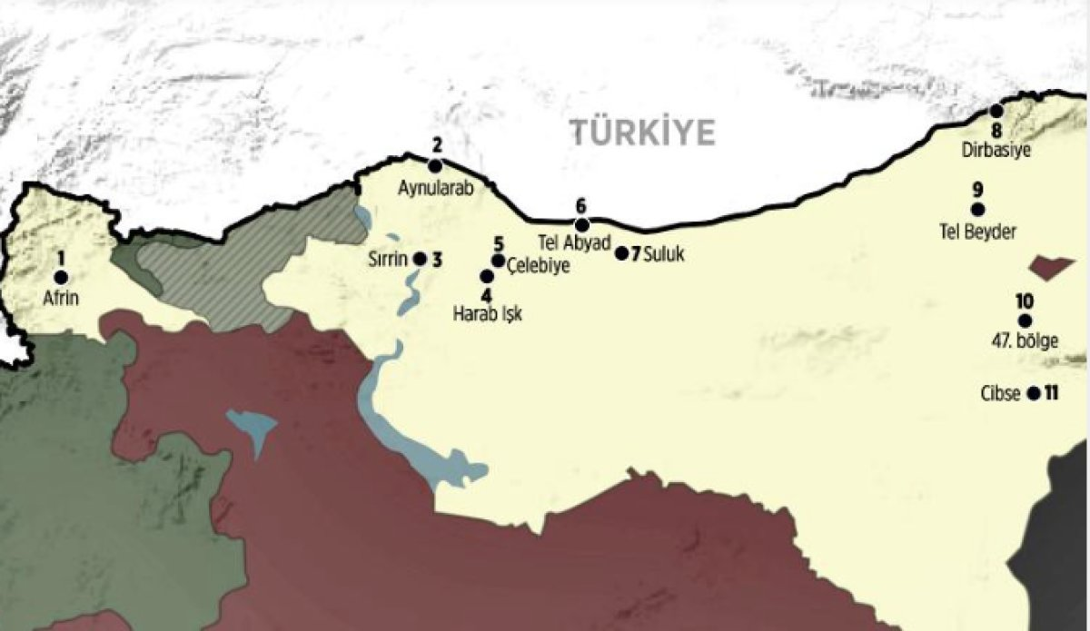 ABD Suriye'deki PKK/PYD topraklarını tanıyacak!