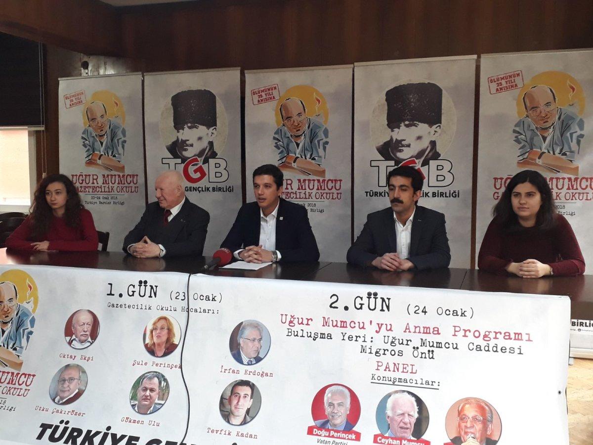 Uğur Mumcu'nun fikirleri genç gazetecilerle buluşuyor