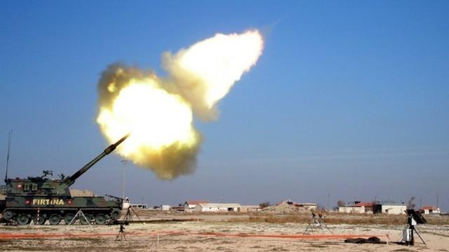 Mehmetçik Afrin'de PKK'yı vurmaya başladı