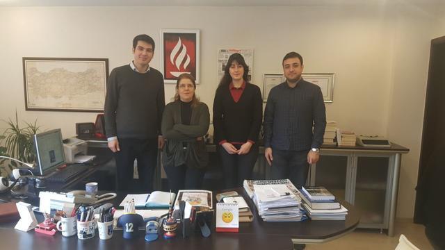 TGB'den Milliyet yazarı Serpil Çevikcan'a ziyaret