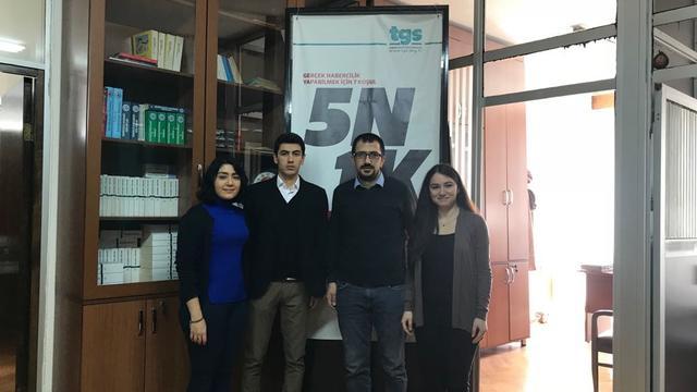 TGB'den Türkiye Gazeteciler Sendikası'na ziyaret